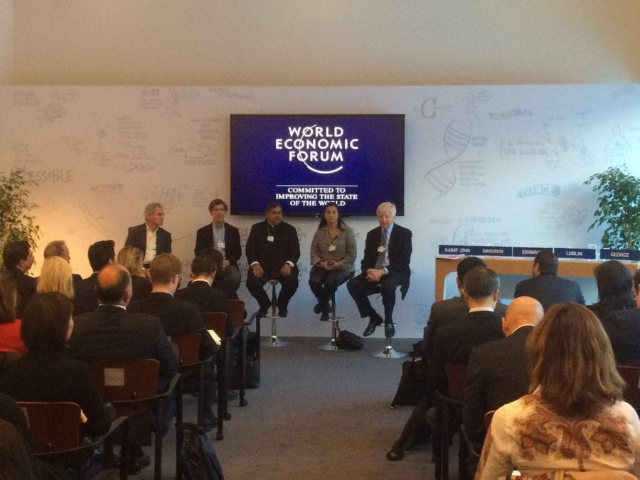 Vijay Eswaran at World Economic Forum 2016