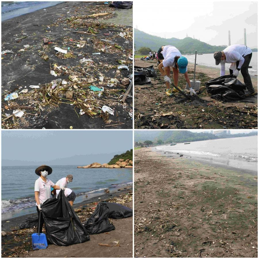 QNET Hong Kong Coastal Clean Up