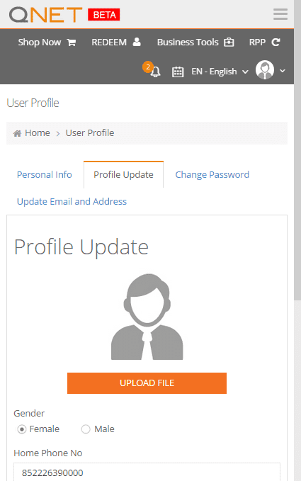 Now you can add a profile picture and access your Virtual Office easily from your mobile.