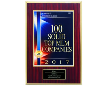QNET Is On The Global 100 Solid Top MLM Companies For 2017 List