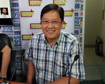V Partner TG Kintanar Represents QNET On Radyo Inquirer DZIQ
