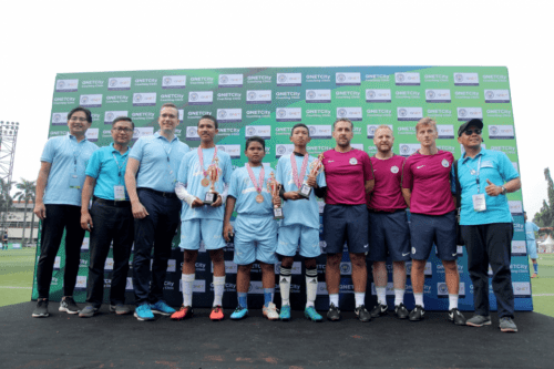 VIDEO: Highlights Of The QNET-Manchester City Football Coaching Clinic