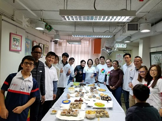 QNET Hong Kong Spreads Christmas Cheer To Children In Need