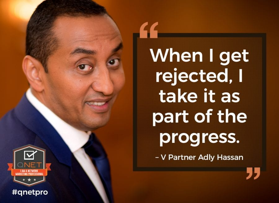 qnet rejections vp adly hassan