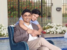 neeraj qnet networker dads with son