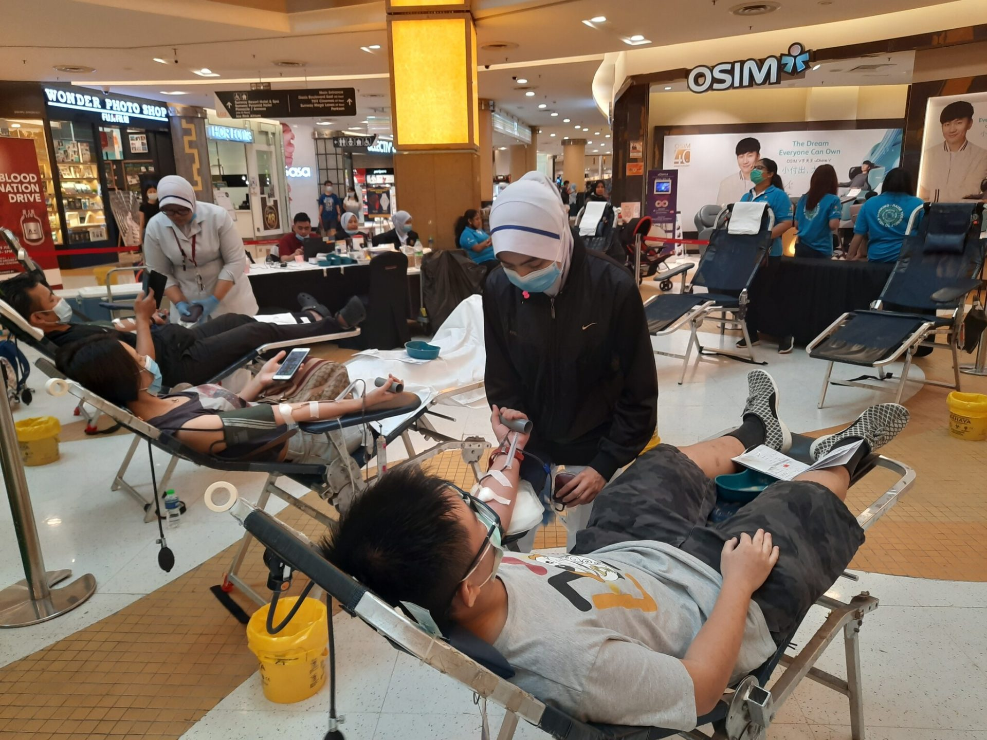 QNET In Malaysia Blood Donation Drive RYTHM (2)