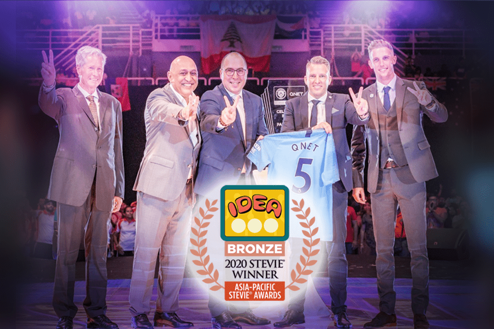 QNET Wins Bronze At The 2020 Asia-Pacific Stevie Awards